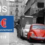 Paris : 50€ d'amende de stationnement en 2018