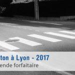 Nouveau radar piéton à Lyon (Saint-Bonnet-de-Mure)
