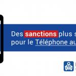 Des sanctions plus dures contre le téléphone au volant ?