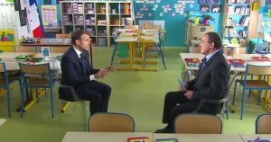Macron Pernaut interview 80km/h du 12/04/2018