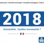 Auto : les changements au 1er janvier 2018