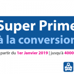 Super prime à la conversion de 4000€ en 2019