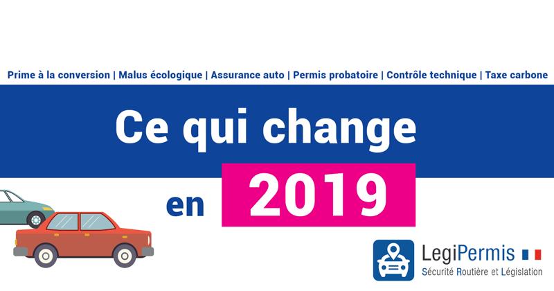 Nouveautés auto : les changements pour 2019