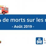 +17,9% de morts sur les routes en Août 2019