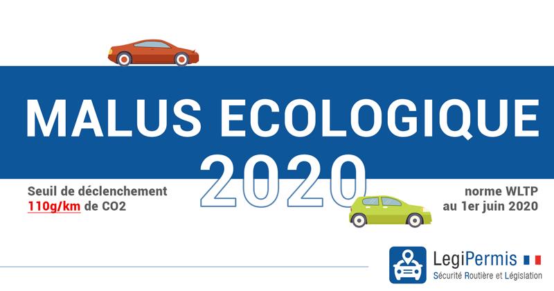 Malus écologique 2020 : un barème encore plus dur