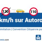 Limitation à 110 km/h sur autoroute en 2020 ?