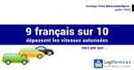 Comportement des français au volant, excès de vitesse, sondage de vinci autoroute et ipsos en juillet 2020 en europe et en France