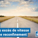 Reconfinement : +50% de grands excès de vitesse
