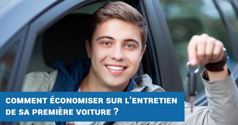 Comment économiser sur l'entretien de sa première voiture ?