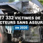 27 332 victimes de conducteurs sans assurance en 2020