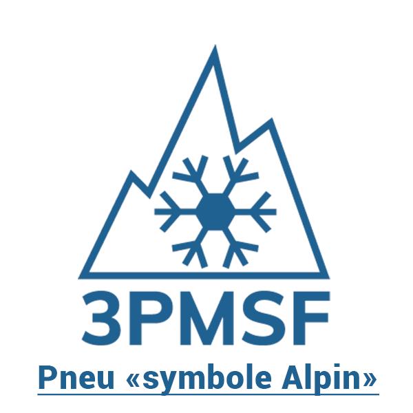 Pneu Symbole alpin 3PMSF