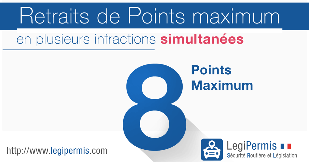 Retrait de points maximum en une fois