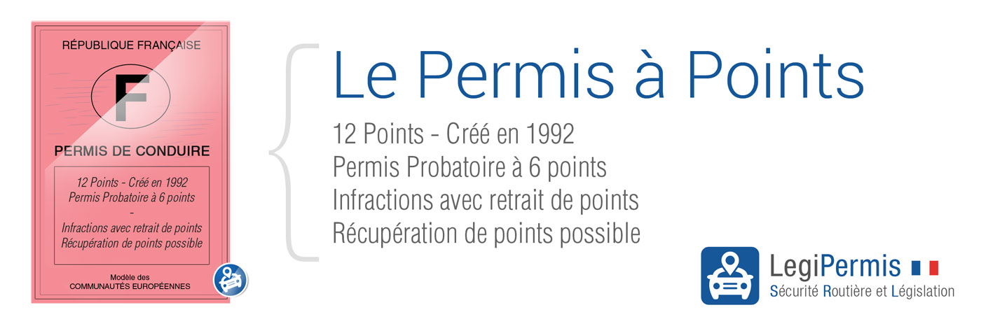 Permis à points : fonction du nombre de points