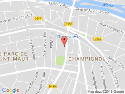 Plan Google Stage recuperation de points à Saint-Maur-des-Fossés proche de Joinville-le-Pont