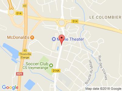 Plan Google Stage recuperation de points à Thionville
