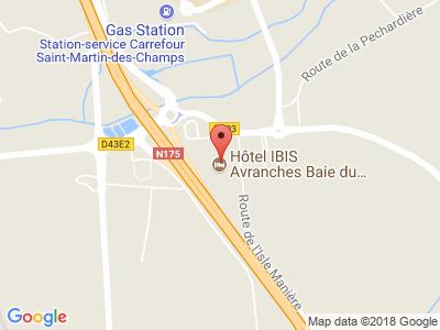 Plan Google Stage recuperation de points à Saint-Quentin-sur-le-Homme proche de Fougères