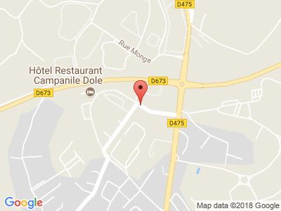 Plan Google Stage recuperation de points à Dole proche de Dijon