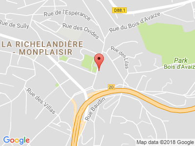 Plan Google Stage recuperation de points à Saint-Étienne