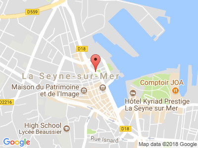 Plan Google Stage recuperation de points à La Seyne-sur-Mer