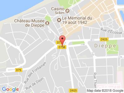 Plan Google Stage recuperation de points à Dieppe