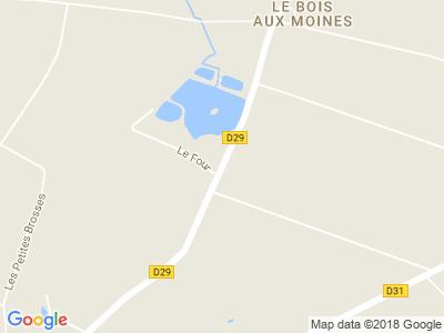 Plan Google Stage recuperation de points à Fougeré proche de Les Herbiers