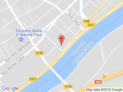 Plan Google Stage recuperation de points à Argenteuil