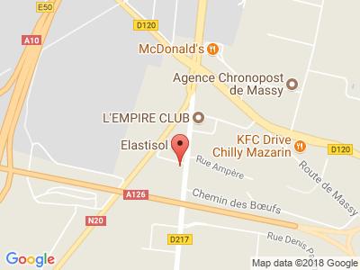 Plan Google Stage recuperation de points à Chilly-Mazarin proche de Massy