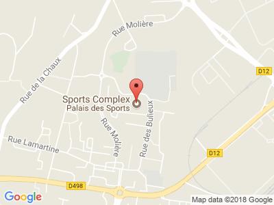Plan Google Stage recuperation de points à Andrézieux-Bouthéon proche de Saint-Étienne