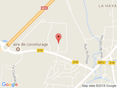 Plan Google Stage recuperation de points à Romagne proche de Fougères