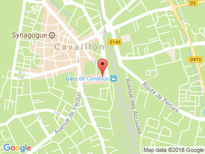 Plan Google Stage recuperation de points à Cavaillon