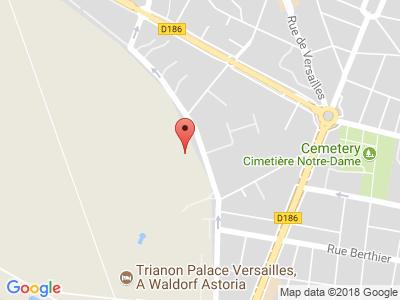 Plan Google Stage recuperation de points à Versailles