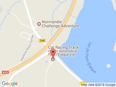 Plan Google Stage recuperation de points à Pont-l'Évêque proche de Pont-Audemer