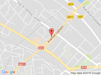 Plan Google Stage recuperation de points à Épinay-sur-Seine proche de Saint-Denis