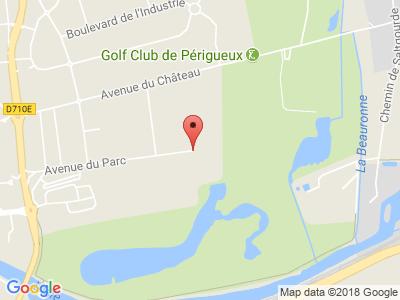 Plan Google Stage recuperation de points à Marsac-sur-l'Isle proche de Périgueux