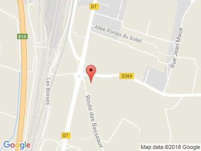 Plan Google Stage recuperation de points à Étoile-sur-Rhône proche de Saulce-sur-Rhône