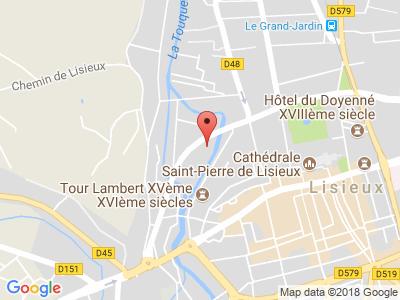 Plan Google Stage recuperation de points à Lisieux