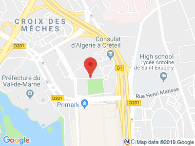 Plan Google Stage recuperation de points à Créteil