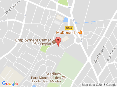 Plan Google Stage recuperation de points à Savigny-sur-Orge proche de Arpajon