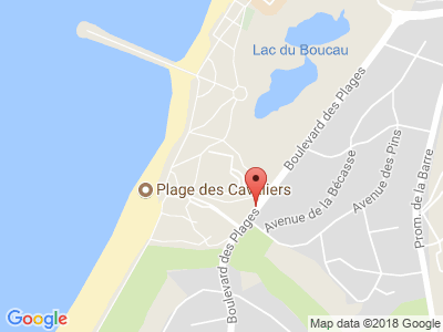 Plan Google Stage recuperation de points à Anglet proche de Bayonne