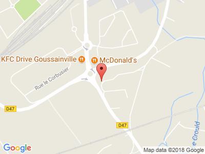 Plan Google Stage recuperation de points à Goussainville proche de Écouen