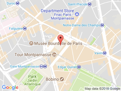 Plan Google Stage recuperation de points à Paris