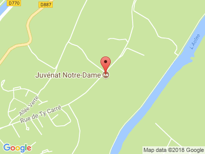 Plan Google Stage recuperation de points à Châteaulin proche de Douarnenez