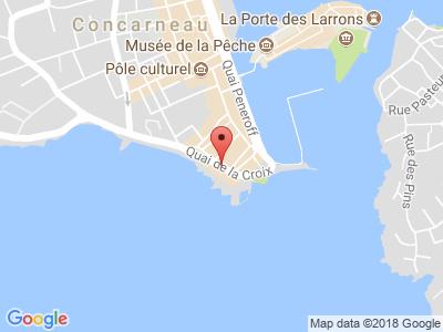 Plan Google Stage recuperation de points à Concarneau