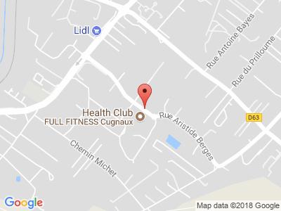 Plan Google Stage recuperation de points à Cugnaux proche de Roques