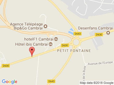 Plan Google Stage recuperation de points à Fontaine-Notre-Dame proche de Proville