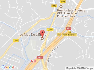 Plan Google Stage recuperation de points à Aubagne proche de Gémenos