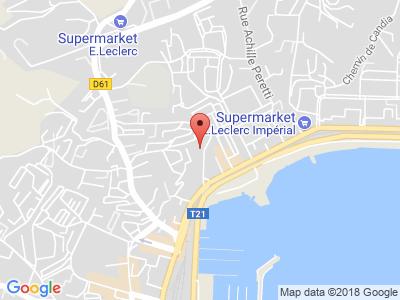 Plan Google Stage recuperation de points à Ajaccio