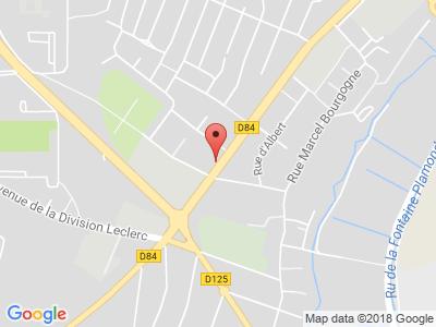 Plan Google Stage recuperation de points à Garges-lès-Gonesse proche de Le Bourget