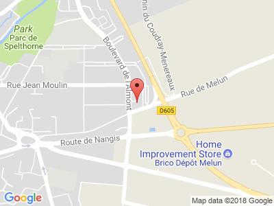 Plan Google Stage recuperation de points à Melun