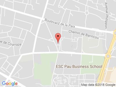 Plan Google Stage recuperation de points à Pau